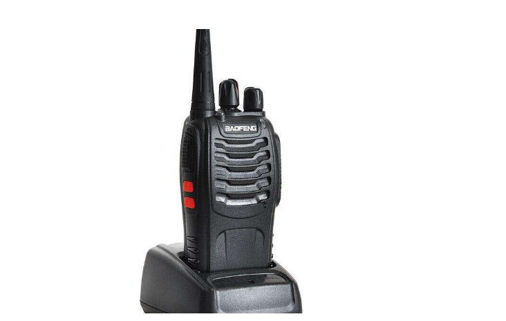 UHF VHF Hand Held Radio 16 kanałów Dual Band Talkie Walkie Two Way Radio 5-10km dostawca